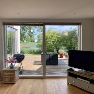 7. Dunnock House View Living Room