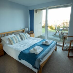 12 Sandpipers downstairs double bedroom
