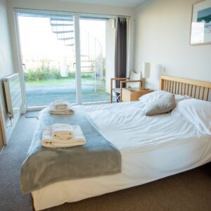 13 Sandpipers downstairs double bedroom
