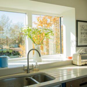 4 Sandpipers kitchen window