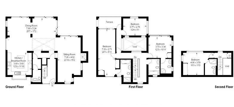 Dunnock House Floorplan Guest